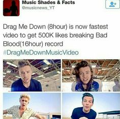 ❤<< all thanks to us directioners. And the boys for making great music!