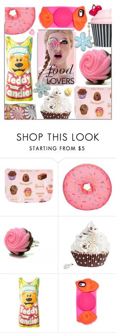 """""""Gift Guide For Food Lovers"""" by maranella ❤ liked on Polyvore featuring interior, interiors, interior design, home, home decor, interior decorating, Harrods, Woouf!, Kate Spade and Moschino"""