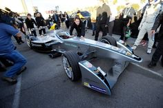 In Pictures: Introducing the Formula E electric race car