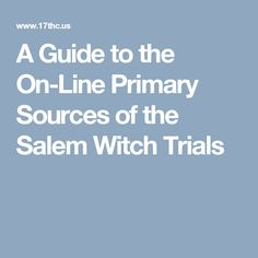 salem witch hysteria dbq The causes of the famous outbreak of witch trials in salem, massachusetts are  rooted in social, economic, and political aspects of the late 17th century salem.