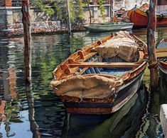 Fabulous reflections  (Joel Johnson watercolor)