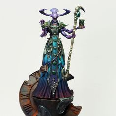 Thousand Sons, Paint Effects, Fantasy Miniatures, Paint Schemes, Warhammer 40k, Board Games, Hand Painted, Drawings, Emperor