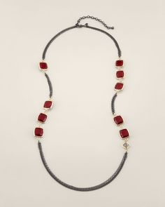 Chico's Women's Clover Necklace