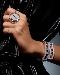Discover Messika Jewlery and High Jewelry collections: contemporary diamond jewelry for women and luxury jewelry for men combining titanium and diamond. Luxury Jewelry, Modern Jewelry, Fine Jewelry, Ring Watch, Bracelet Watch, Bangle Set, Bangle Bracelets, Unusual Rings, Gold Bangles