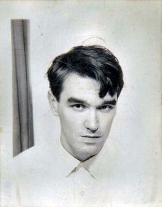 Teenaged Morrissey (1970's).