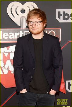 ed sheeran en iheartradio music awards 05, 03, 2017.