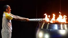 Olympia 2016 Olympisches Feuer