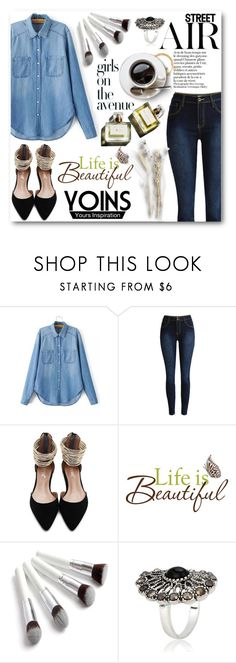 """""""Yoins"""" by tanja133 ❤ liked on Polyvore featuring Avenue, Wall Pops!, Garance Doré and yoins"""