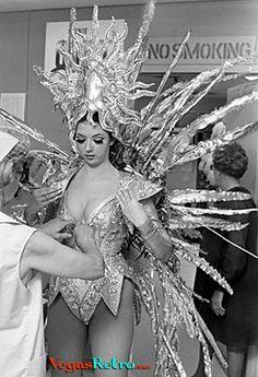 retro showgirl