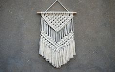 Macrame wall hanging Medium size wall decor Woven wall hanging