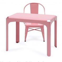 Tolix kids collection available chiccham tolix sd desk tolix colors kidsfurniture pinkness via chiccham- desk, design