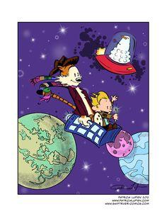 Doctor Who/Calvin & Hobbes YAAS