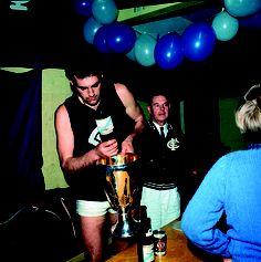 Celebrating the Carlton Football Club's 16 Premierships. Carlton Afl, Carlton Football Club, Club 16, Go Blue, Sweet 16, Melbourne, Blues, Australia, Sport