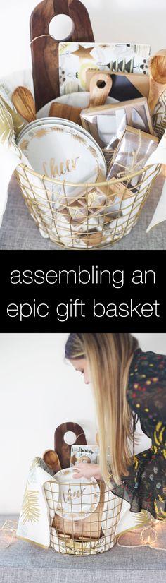 Tips for putting together an awesome holiday gift basket and beyond! @worldmarket #ad #WorldMarketJoy #worldmarkettribe
