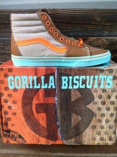 Limited Edition Gorilla Biscuits X Vans Sk8 HI