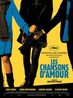 Les chansons d'amour - Christophe Honoré (2007). Louis Garrel, Beau Film, Hd Movies, Movies And Tv Shows, Movie Tv, Movies Online, Ludivine Sagnier, French Movies, Musical Film