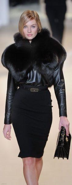 Black Essence ✦ Elle Saab ✦ from my board: https://www.pinterest.com/sclarkjordan/black-essence/