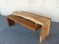 Waterfall Coffee table   Northwest Woodworkers Gallery