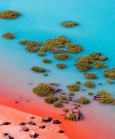 travel destinations australia Shoreline in Broome, - traveldestinations Visit Australia, Australia Travel, Australia Destinations, Australia Photos, Brisbane Australia, South Australia, Great Barrier Reef, Travel Photography Inspiration, Nature Photography