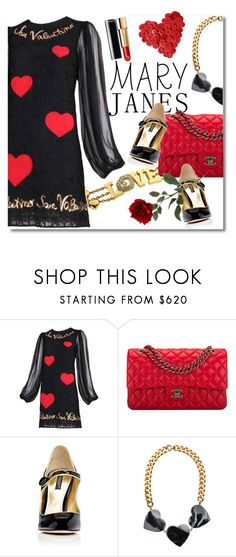 """Sweet Mary Janes"" by lacas ❤ liked on Polyvore featuring Dolce&Gabbana, Chopard, Chanel, STELLA McCARTNEY and maryjanes"