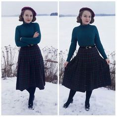 531 отметок «Нравится», 11 комментариев — Liida Ryyttäri (@missliidainez) в Instagram: «Outfit I wore some time ago on a very cold and snowy day ❄ #vintage #vintagefashion #vintagestyle…»