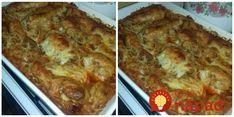Mne by asi takáto kombinácia nikdy nenapadla, no je to až prekvapivo výborné. Ja som nakoniec ešte skúsila posypať syrom - tesne pred koncom pečenia - naozaj papanie na jednotku s hviezdičkou! :-) Best Chicken Coop, Chicken Coops, Lasagna, Mashed Potatoes, French Toast, Cooking, Breakfast, Ethnic Recipes, How To Make