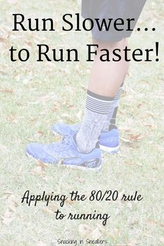 When it comes to training for long distance races, should you focus on running slower to run faster? The answer for many is yes! Find out more in this post.