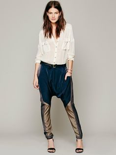 One Teaspoon Revelator Slouch Pant at Free People Clothing Boutique