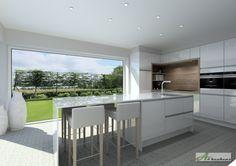 Modern Kitchen Cabinets, New Kitchen, Duplex House, Villa, Cuisines Design, Interior Exterior, Decoration, Architecture Design, Kitchen Design