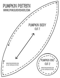 FREE fabric pumpkin pattern from pinksuedeshoe Burlap Pumpkins, Fall Pumpkins, Fabric Pumpkins No Sew, Wedding Pumpkins, Primitive Fall, Primitive Crafts, Pumpkin Crafts, Diy Pumpkin, Fabric Crafts