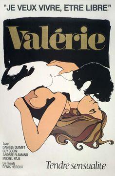 VALERIE de Denis Héroux (1968) #affiche #cinema #quebecois #quebec #valerie #heroux