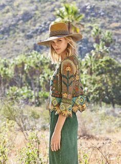 Kismet Pima Cotton Cardigan - New Markdowns - Sale - Peruvian Connection Crochet Shrug Pattern, Crochet Coat, Crochet Jacket, Crochet Cardigan, Crochet Clothes, Crochet Patterns, Cotton Cardigan, Cardigan Sweaters, Hippie Crochet