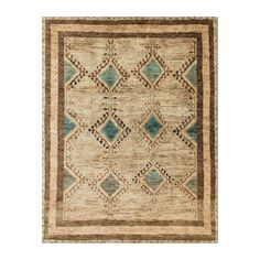 Shop Loloi  NOMANM-03AQBE Aqua and Beige Nomad Area Rug at The Mine. Browse our area rugs, all with free shipping and best price guaranteed.