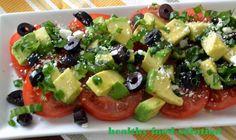 avocados and tomatos