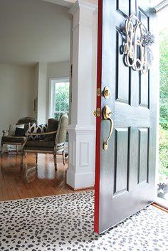 """Front Door Makeover With """"Front Door Paint"""""""