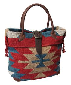 Red & Blue Ramses Tote #zulily #zulilyfinds