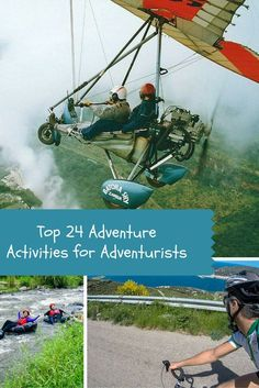 24 of the best adventure activities by top adventure travel bloggers. #Adventure #Travel ideas for your bucket list.