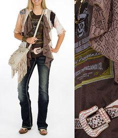 'Soul Searching' #buckle #fashion www.buckle.com Color scheme
