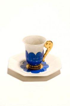 Tasse et soucoupe à café | Compagnie des Arts Français Paris Louis Süe Limoges, 1925 (vers)