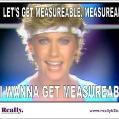 Get measurable with Olivia Newton-John!
