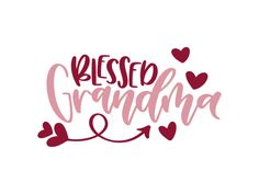Free blessed grandma svg file for all the grandma's out there! Use on things such as t-shirts, mugs, tea towels and other creative DIY projects you can think of. Can be used on both silhouette and cricut Iron On Cricut, Cricut Vinyl, Svg Files For Cricut, Grandma Mug, Grandma Quotes, Cricut Explore Air, Silhouette Cameo Projects, Silhouette Design, Vinyl Shirts