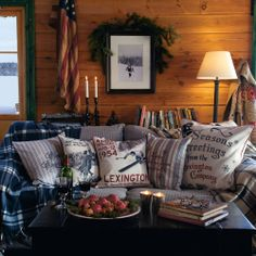 Layer up with luxurious throws and designer cushions and mix plenty of natural textures and tones to help create your very own ski inspired retreat.