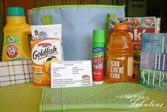 Onward to College Survival Gift Bag Ideas