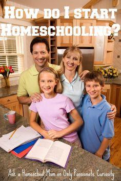 Ask a Homeschool Mom: How do I start Homeschooling? -