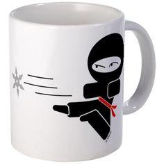 Lil Ninja Mug on CafePress.com
