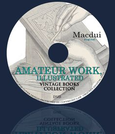 Items similar to Amateur Work, illustrated – Vintage Magazines 7 Volumes PDF on 1 DVD on Etsy Old Magazines, Vintage Magazines, Vintage Books, Ebooks, Collections, Digital, Cover, Illustration, Etsy