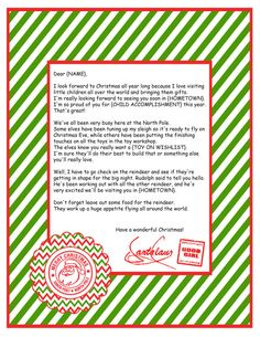 Personalized Letter to Santa by MilanoInk on Etsy, $10.95