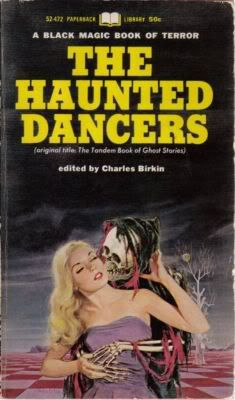 Paperback Library: 1964-1974 | Vault Of Evil: Brit Horror Pulp Plus! The Haunted Dancers edited by Charles Birkin