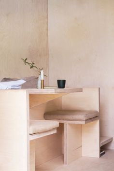 Living with Less as inspired by Micro Architecture and Cabin Design + Modern Bedroom Storage and Minimalist Furniture to simplify your everyday.