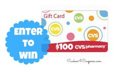 #Giveaway Win a $100 CVS Gift Card!